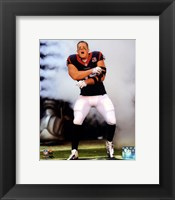 Framed J.J. Watt 2012 Action