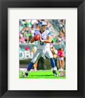 Framed Matthew Stafford 2012 football