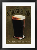 Framed Stagger Inn