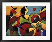 Framed Jazz Panel 2