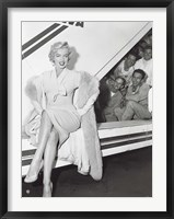 Framed Marilyn Monroe in Airport