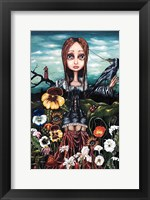 Framed Madame Nature