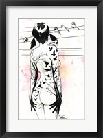 Framed Tattoo Girl