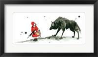 Framed Red Riding Hood