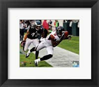 Framed Julio Jones 2012 Action