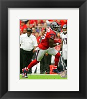 Framed Andre Johnson 2012 red