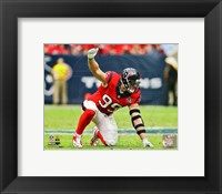Framed J.J. Watt 2012 position