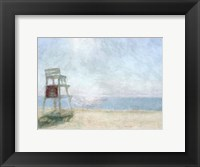 Framed Beach Lookout I