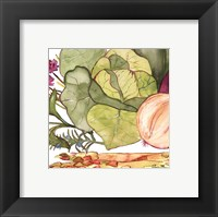 Framed Vegetable Melange II