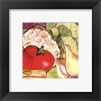 Vegetable Melange IV Framed Print