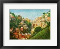 Framed Cinque Terre