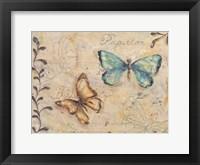 Framed Fluttering Butterflies