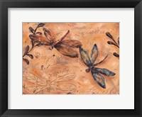 Framed Fluttering Dragonflies
