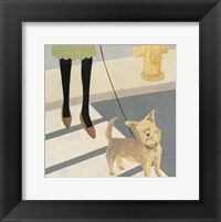 Framed City Dogs I