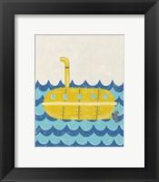 Truman's Voyage IV Framed Print