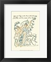 Framed Shakespeare's Garden II (Hyacinth)