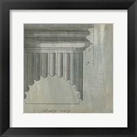 Framed Decorative Elegance VI