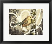 Bird Song I Framed Print