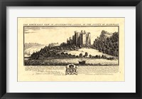 Framed Vintage Oystermouth Castle