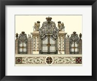 Framed Grand Garden Gate I