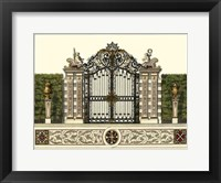 Framed Grand Garden Gate II
