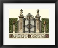 Framed Grand Garden Gate III
