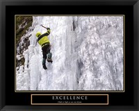 Framed Excellence-Snow Climber