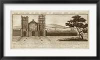 Framed View of Eynsham Abbey