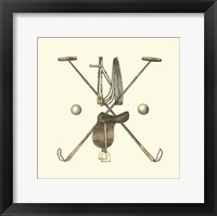 Framed Polo Saddle