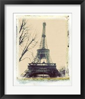 Framed Eiffel View III