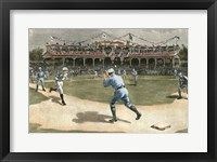 Framed National League Game 1886