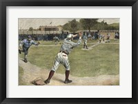 Framed Thrown out on 2nd 1887