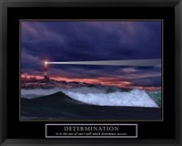 Framed Determination-Lighthouse