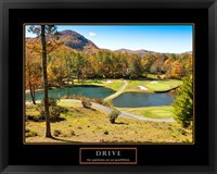 Framed Drive-Golf
