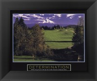 Framed Determination-Golf