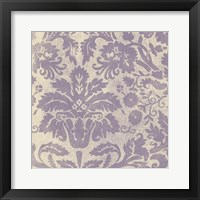 Framed Damask Detail V
