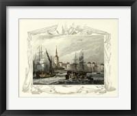 Framed Seaside Vignette II