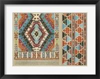 Framed Turkish Carpet Design