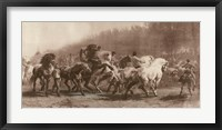 Framed Horse Fair