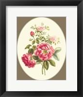 Framed Antique Bouquet I