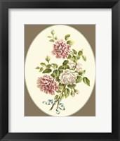 Framed Antique Bouquet V