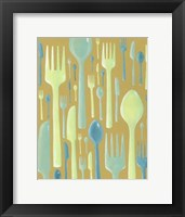 Spring Cutlery II Framed Print
