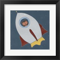 Framed Monkeys in Space II