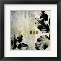 Framed Leaves & Stems II