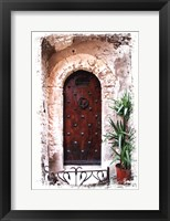Doors of Europe III Framed Print