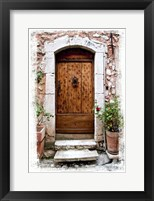 Doors of Europe V Framed Print