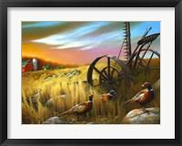 Framed Pheasants I