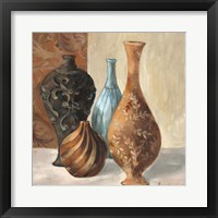 Framed Spa Vases I