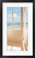 Framed Coastal Doorway III