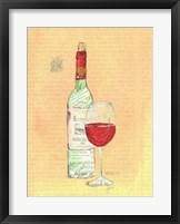 Framed Wine Collage II
